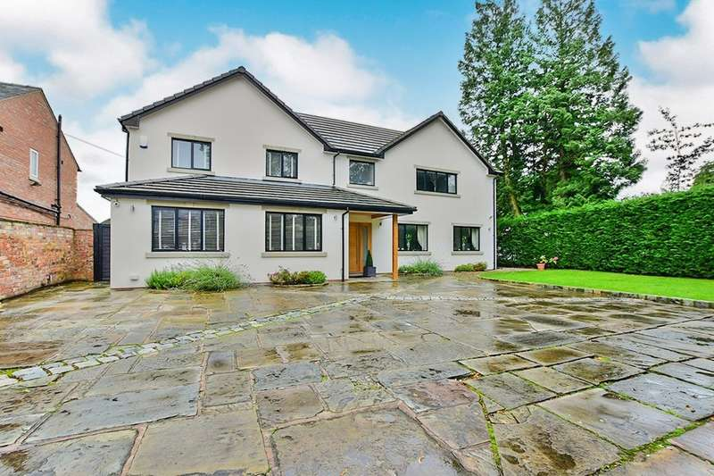 4 Bedrooms Detached House for sale in Manchester Road, Wilmslow, SK9