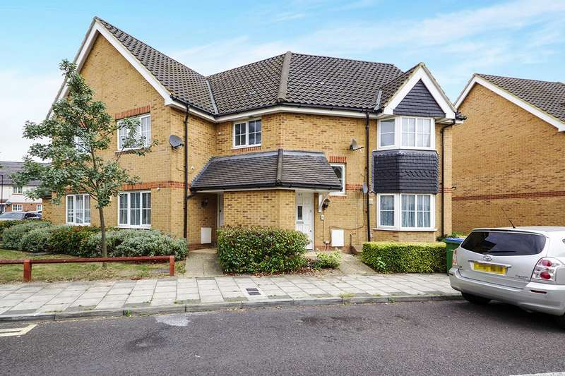 2 Bedrooms Apartment Flat for sale in Waterside Close, London, SE28