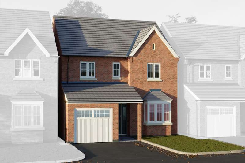 4 Bedrooms Detached House for sale in Thorpe Downs Road, Church Gresley, Swadlincote, Derbyshire, DE11