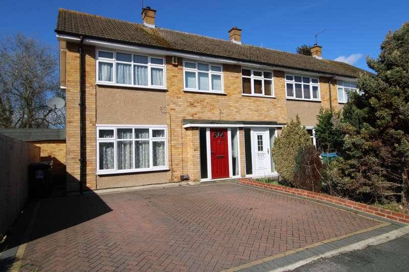 3 Bedrooms End Of Terrace House for sale in Leaford Crescent, Watford, WD24