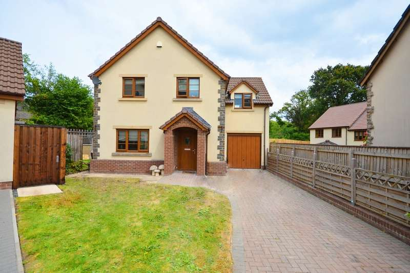 4 Bedrooms Detached House for sale in The Sidings, Clutton, BS39