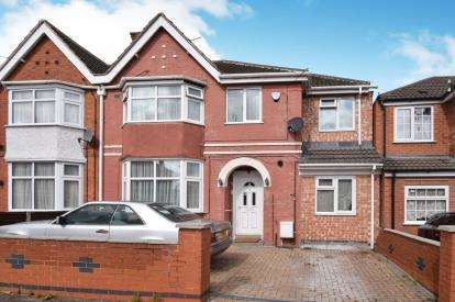 5 Bedrooms Semi Detached House for sale in Rowsley Avenue, North Evington, Leicester, Leicestershire