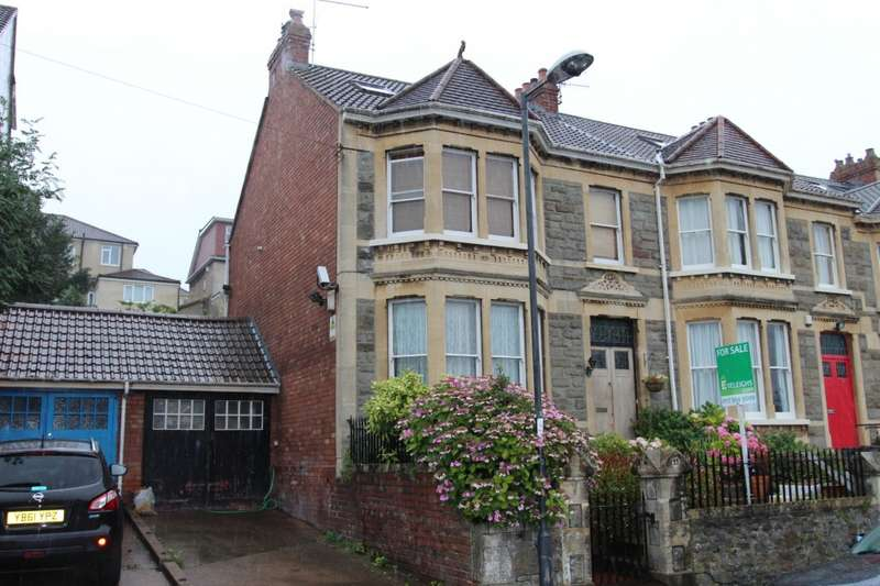 4 Bedrooms End Of Terrace House for sale in Sylvia Avenue, Knowle, BS3