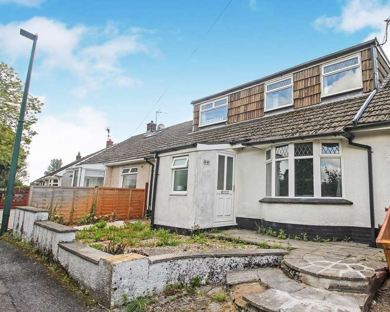 3 Bedrooms Semi Detached Bungalow for sale in Park Hill Crescent, Beaufort, Ebbw Vale, NP23