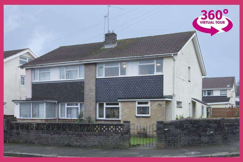 3 Bedrooms Semi Detached House for sale in Stockton Road, Newport VIEW 360 TOUR AT REF# 00001804