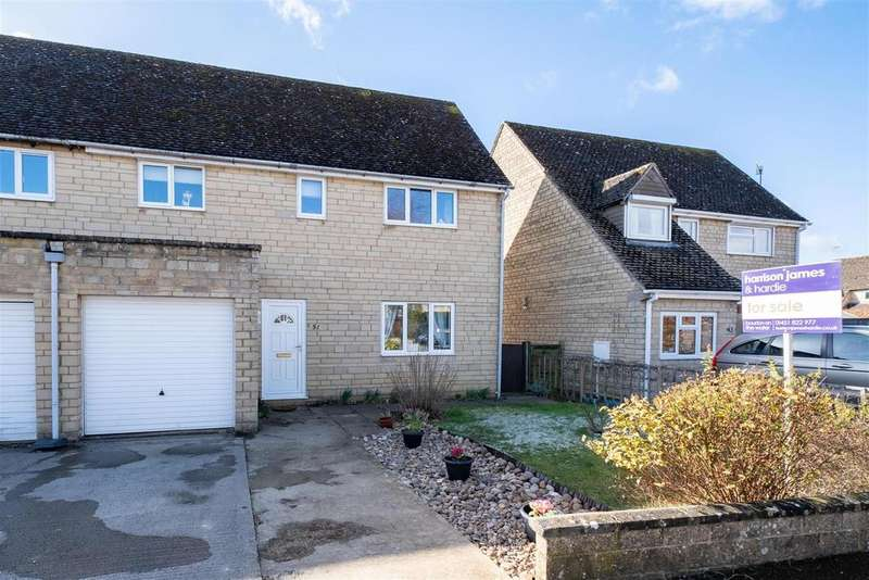 3 Bedrooms Semi Detached House for sale in Lamberts Field, Bourton on the Water, Cheltenham