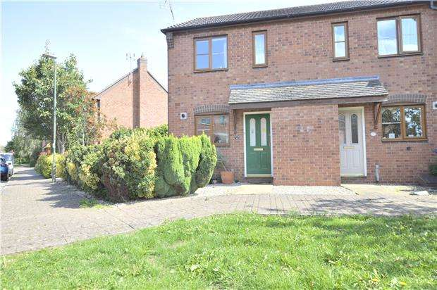 2 Bedrooms End Of Terrace House for sale in 46 Cypress Road, Walton Cardiff, Tewkesbury, Gloucestershire, GL20 7RB