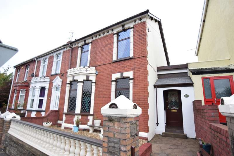 3 Bedrooms Terraced House for sale in Gwerthonor Place, Gilfach, Bargoed