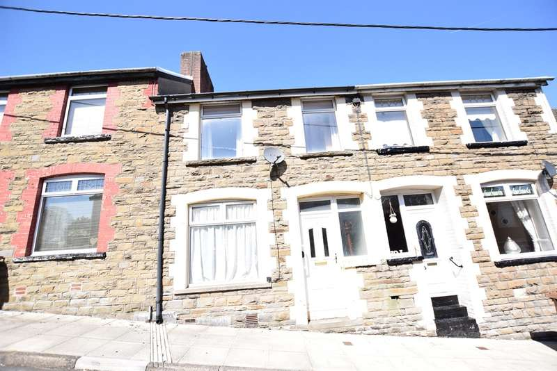 3 Bedrooms Terraced House for sale in Alfred Street, Gilfach, Bargoed
