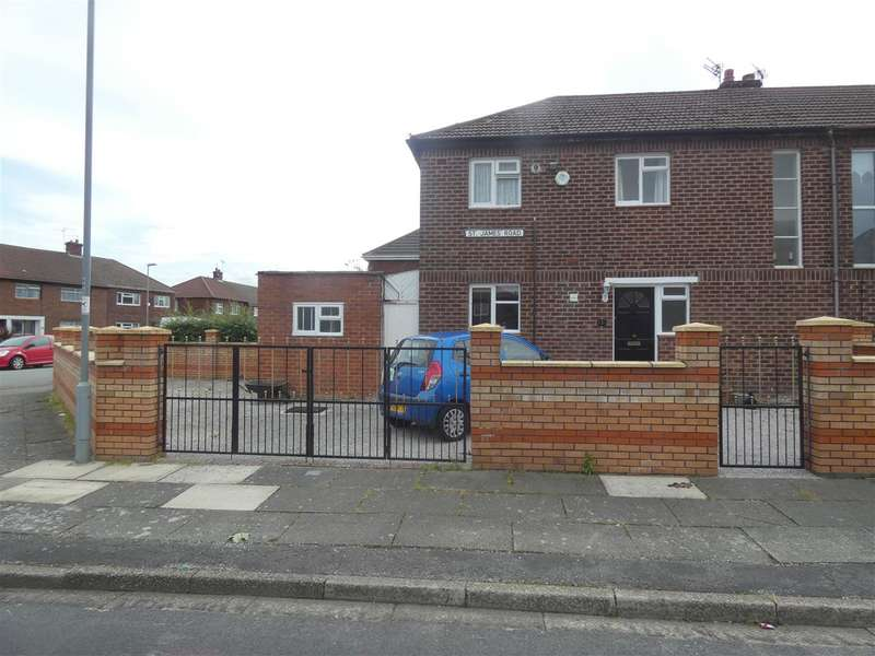 3 Bedrooms Semi Detached House for sale in St James Road, Huyton, Liverpool
