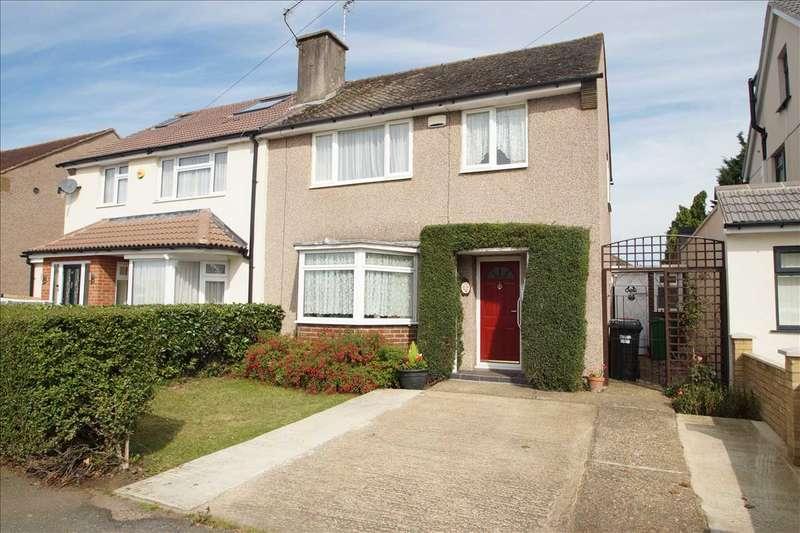 3 Bedrooms Semi Detached House for sale in Mercian Way, Cippenham, Slough