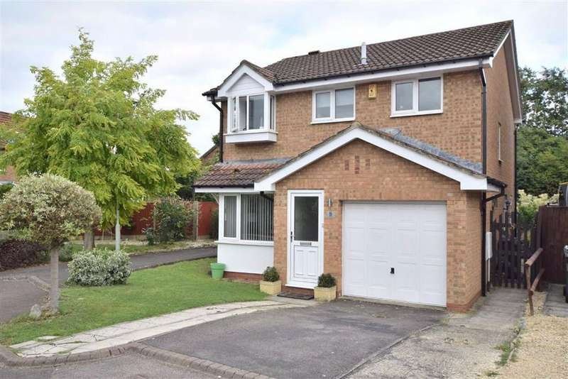 4 Bedrooms Detached House for sale in Pinery Road, Barnwood, Gloucester