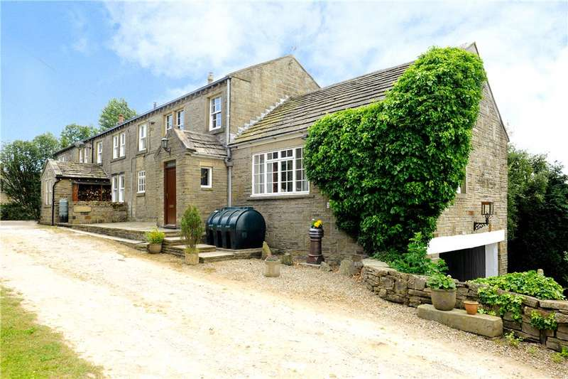 3 Bedrooms Semi Detached House for sale in New Dean Farm Cottage, Dean House Lane, Stainland, Halifax