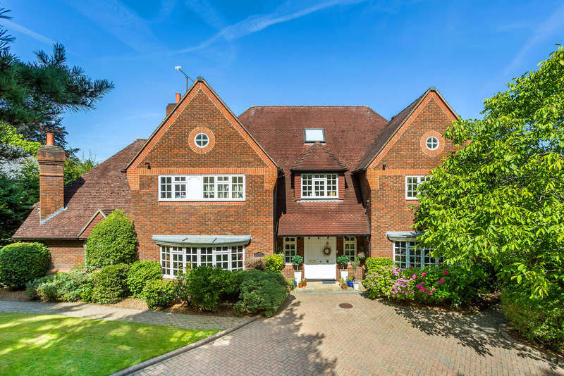 6 Bedrooms Detached House for sale in Neb Lane, Oxted, RH8