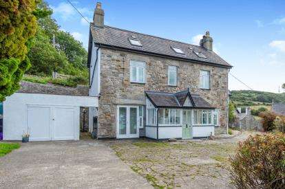 4 Bedrooms Detached House for sale in Llanddona, Beaumaris, Sir Ynys Mon, LL58
