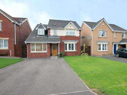 4 Bedrooms Detached House for sale in Glendarvel Place, Glenrothes