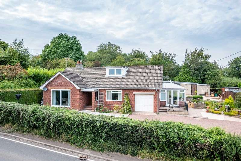 3 Bedrooms Detached Bungalow for sale in Coleford Road, Bream, Lydney