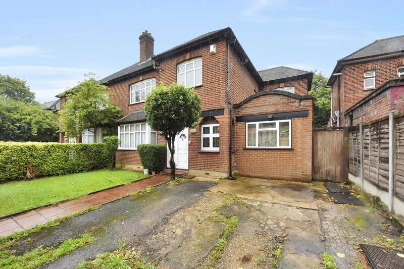 5 Bedrooms Semi Detached House for sale in Woodberry Grove, London N4