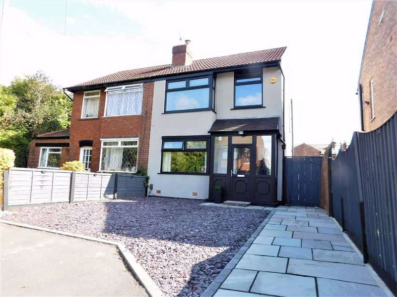 3 Bedrooms Semi Detached House for sale in Plymouth Grove, Cheadle Heath, Stockport