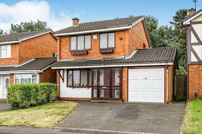 3 Bedrooms Detached House for sale in Stonedown Close, Sedgmoor Park, Bilston, West Midlands, WV14
