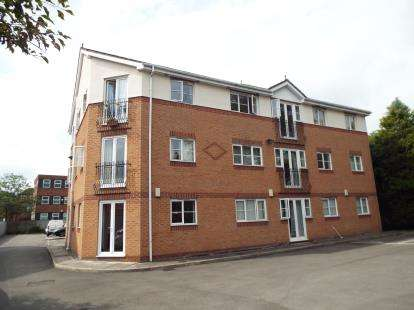 2 Bedrooms Flat for sale in Kingswood Court, Grove Avenue, Wilmslow, Cheshire