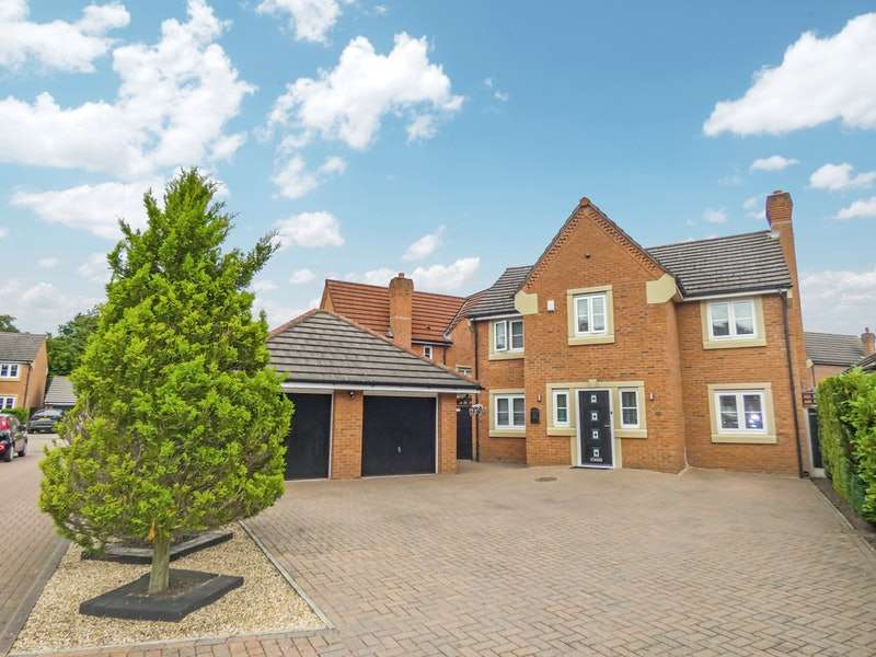 4 Bedrooms Detached House for sale in Rudheath Lane, Runcorn, Cheshire, WA7