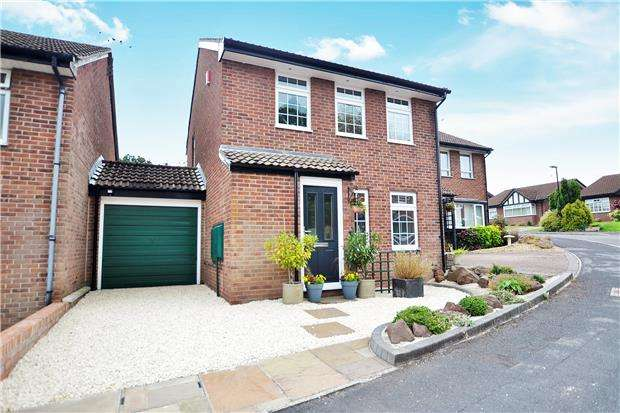 3 Bedrooms Detached House for sale in Convent Close, BRISTOL, BS10 7XQ