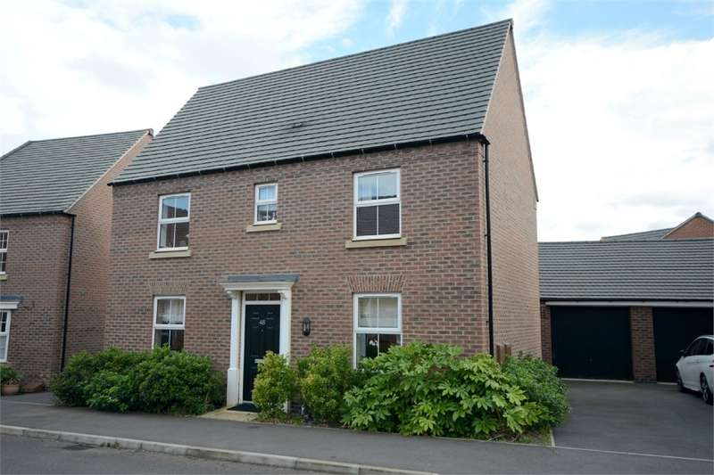3 Bedrooms Detached House for sale in Sedge Road, Coton Park, RUGBY, Warwickshire