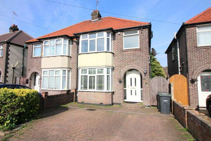 3 Bedrooms Semi Detached House for sale in Lewsey Road, Luton, Bedfordshire, LU4 0EP