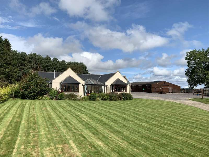4 Bedrooms Equestrian Facility Character Property for sale in Barrowsgate Cottage, Drumoak, Banchory, Aberdeenshire, AB31