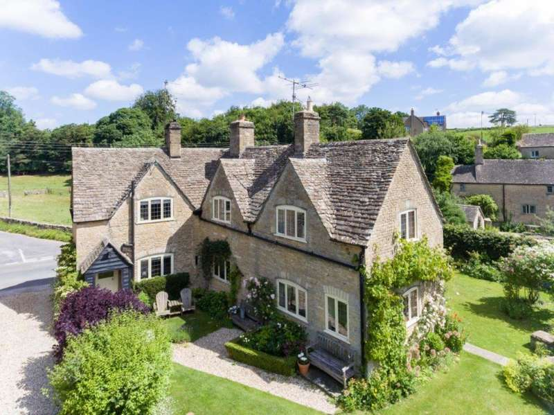 4 Bedrooms Detached House for sale in The Square, Maces Hill, Daglingworth, Cirencester, Gloucestershire