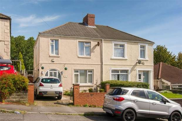 3 Bedrooms Semi Detached House for sale in Pentregethin Road, Gendros, Swansea, West Glamorgan