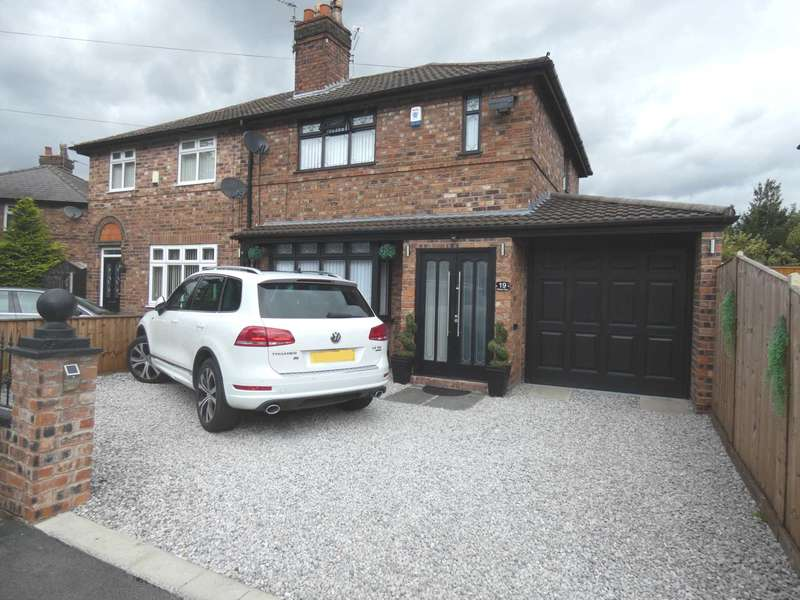 2 Bedrooms Semi Detached House for sale in Rixton Avenue, Warrington