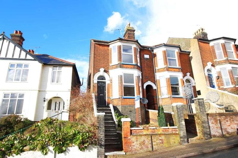 3 Bedrooms Semi Detached House for rent in Belle Vue Road, Ipswich