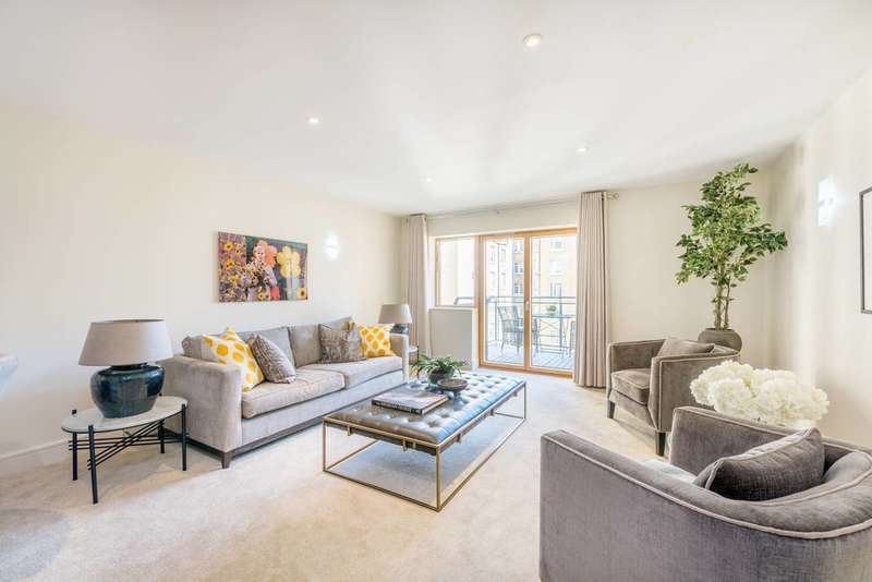 3 Bedrooms Flat for sale in Richbourne Court, Marylebone, W1H