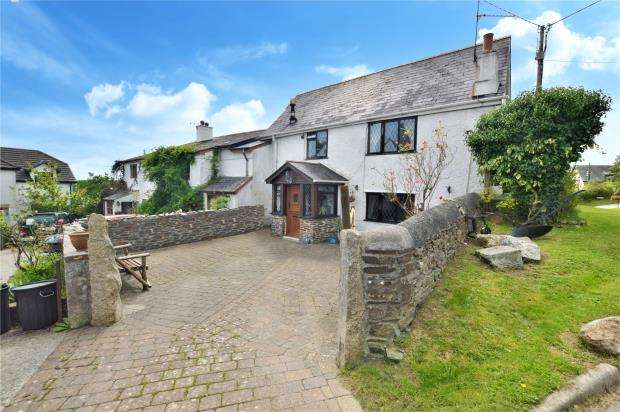 2 Bedrooms Semi Detached House for sale in The Court, Pillaton, Saltash, Cornwall