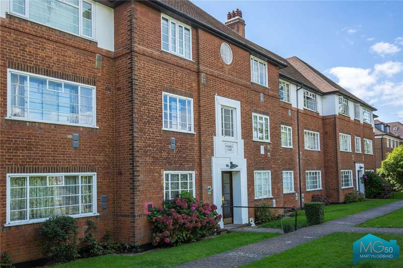 2 Bedrooms Apartment Flat for sale in Monarch Court, Lyttelton Road, London, N2