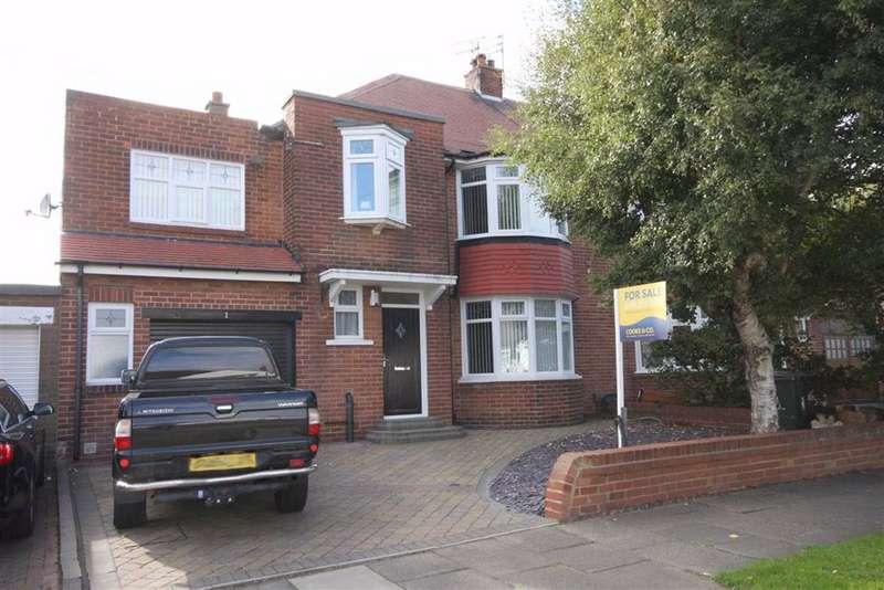 4 Bedrooms Semi Detached House for sale in Kendal Avenue, Cullercoats, Tyne & Wear, NE30