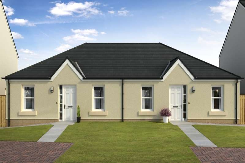 2 Bedrooms Semi Detached Bungalow for sale in Mains Farm, North Berwick, East Lothian, EH39