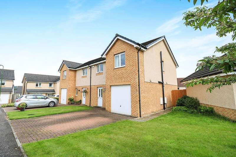 3 Bedrooms Semi Detached House for sale in Russell Road, Bathgate, West Lothian, EH48