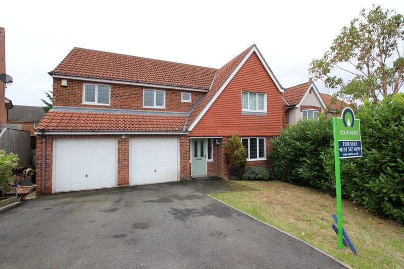 4 Bedrooms Detached House for sale in Lothian Close, Broadway Estate, Sunderland, SR4