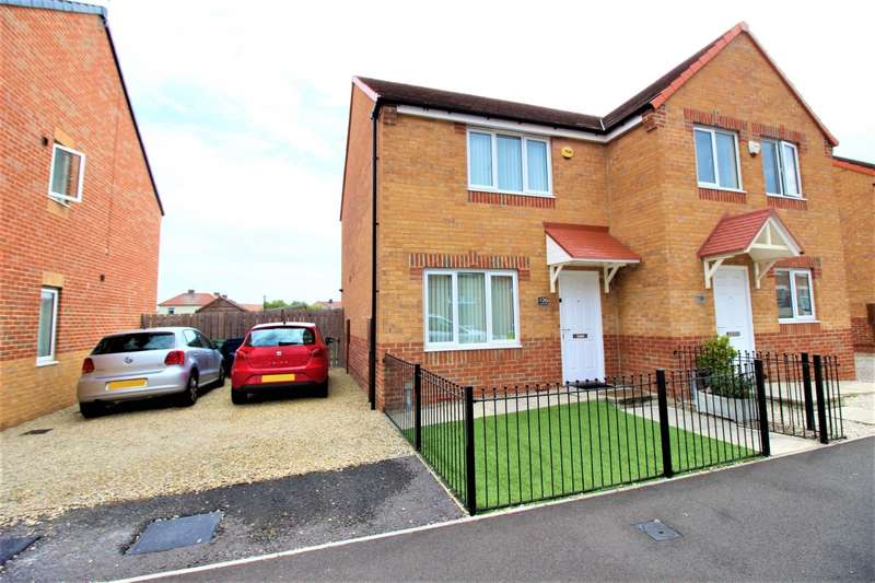2 Bedrooms Semi Detached House for sale in Charles Street, Boldon Colliery, Tyne And Wear, NE35