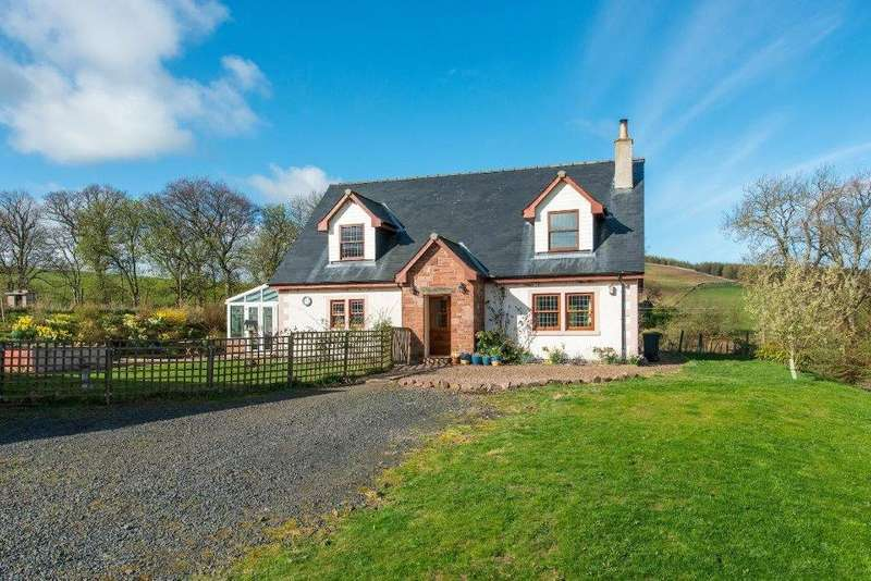 3 Bedrooms Detached House for sale in Lowood, Swinside, Jedburgh, Scottish Borders, TD8