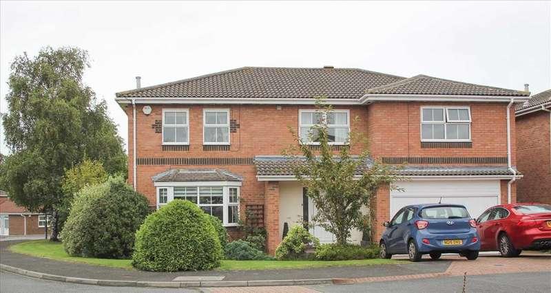 5 Bedrooms Detached House for sale in Glenfield Avenue, Northburn Vale, Cramlington