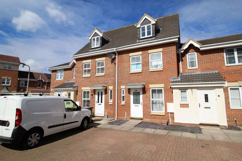 3 Bedrooms House for sale in Gillespie Close, Bedford, Bedfordshire, MK42