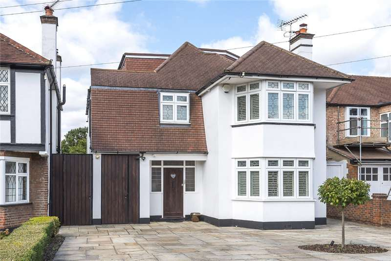 6 Bedrooms Detached House for sale in Evelyn Avenue, Ruislip, Middlesex, HA4