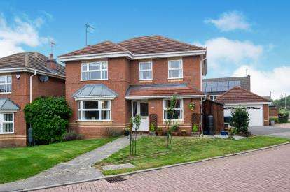 4 Bedrooms Detached House for sale in Shelland Close, Market Harborough, Leicestershire, United Kingdom