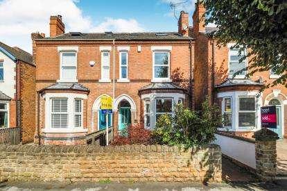 4 Bedrooms Semi Detached House for sale in Trent Boulevard, West Bridgford, Nottingham, Nottinghamshire