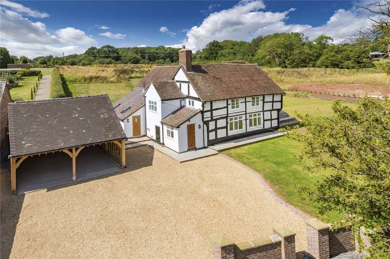 4 Bedrooms Detached House for sale in Yew Tree Cottage, Astley Abbotts, Bridgnorth, Shropshire, WV16