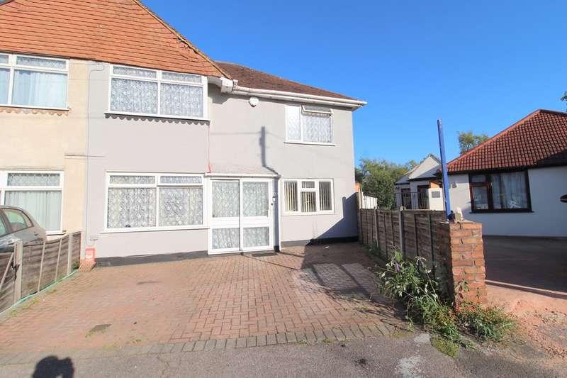 4 Bedrooms Semi Detached House for sale in Harrow Road, Ashford/Bedfont Borders, TW14